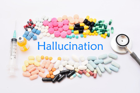 paranoid: Drugs for hallucination treatment