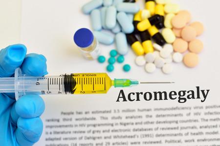 Medikamente zur Behandlung der Akromegalie
