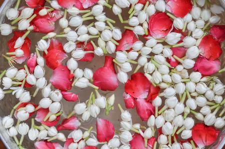 corolla: jasmine and rose corolla