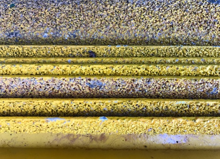 corrosion: Steel plate of corrosion.