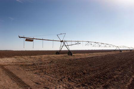 Crop irrigation system photo