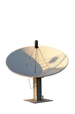 snoop: Isolated satellite dish