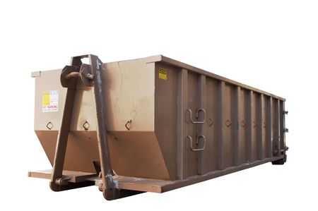 dumpster: Industrial dumpster