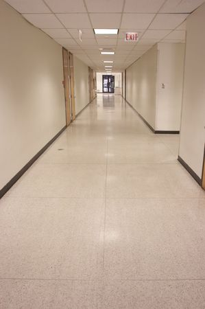 corridors: Long hallway