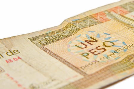 peso: One cuban peso convertibles