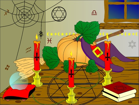 witches room Vector