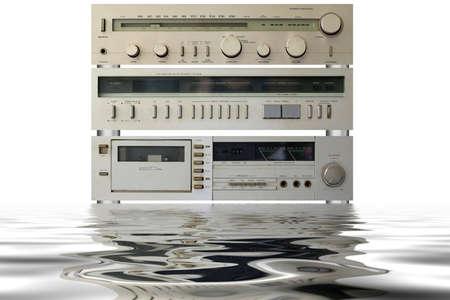 hifi: Hi-Fi stereo equipment with reflection