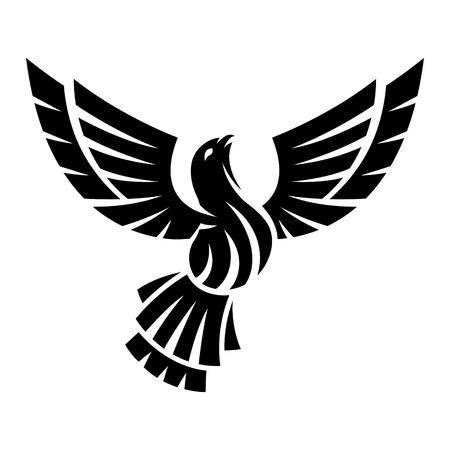 phoenix bird: Abstract bird Illustration