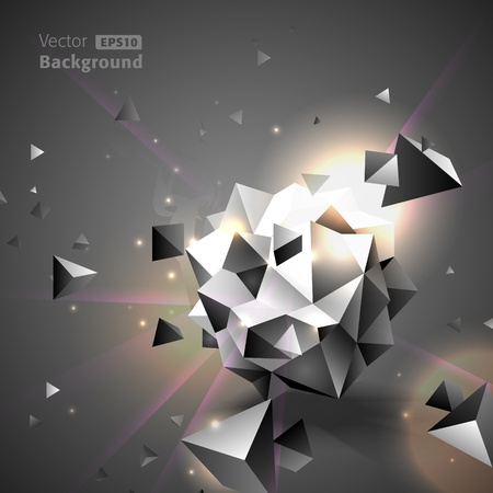 Abstract background Stock Vector - 12493038