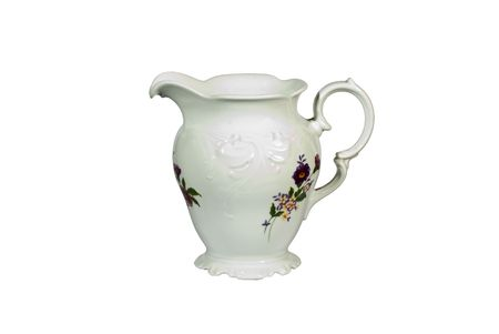 Porcelain pitcher photo