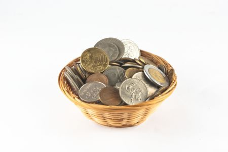 loot: Collection of coins into baskets