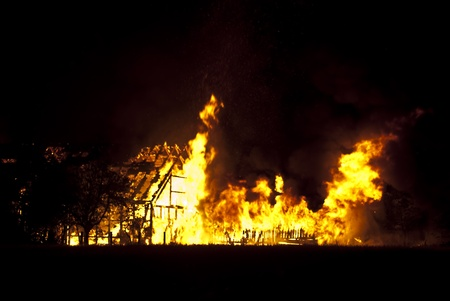 miserable: barn burning