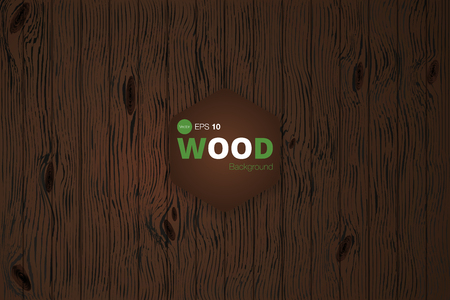 Wood texture. Background. Veins. Vector. Illustration
