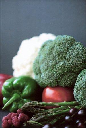野菜 & さくらんぼ 写真素材