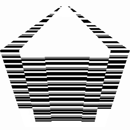 Pentagon geometric shape  向量圖像