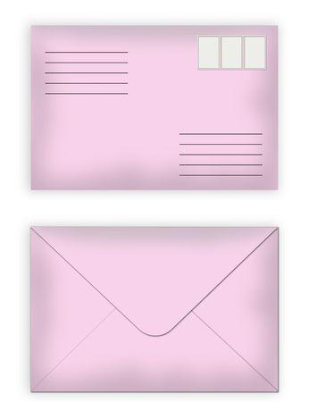 sealed: sealed pink envelopes