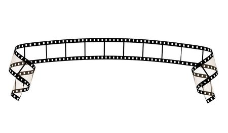 film strip ribbon photo