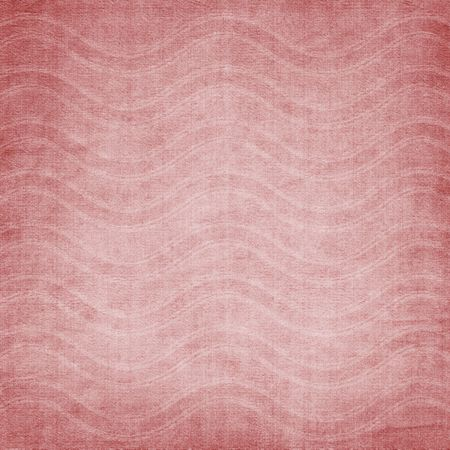 babygirl: fabric background with waves Stock Photo