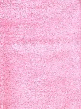 ovine: pink fluffy fabric