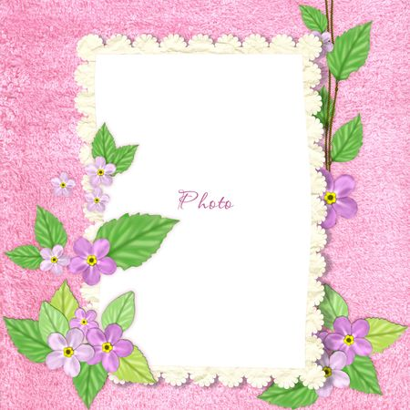 three colored: Spring frame