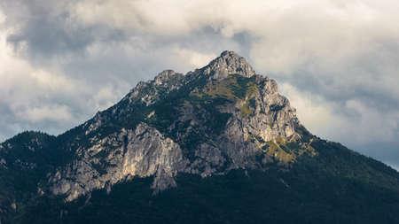 mala fatra: Velky Rozsutec in Mala Fatra Mountain Range, Slovakia Stock Photo