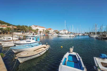 Marina Preko on Ugljan Island near City of Zadar, Dalmatia, Croatia