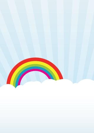 Rainbow background Stock Photo - 8784519