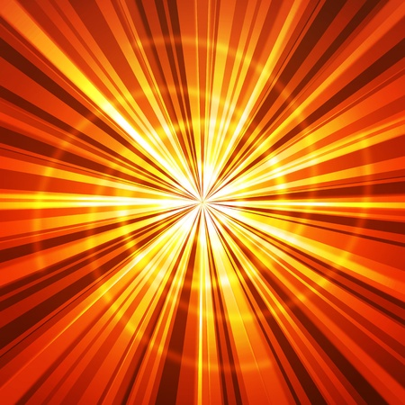 Vector abstract rays
