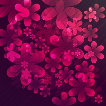 Vector abstract flowers Stock Vector - 9160067