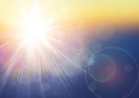 Sunlight background Фото со стока