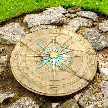 puntos cardinales: Rosa de los vientos, York