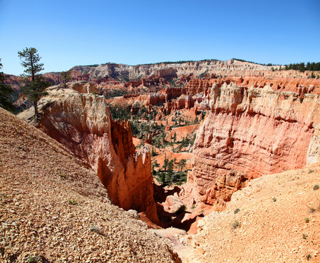 Panoramic view of Sunset view in Bryce Canyon National Park