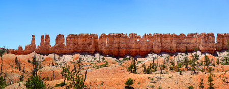 Wall of Hoodoos in Bryce Canyon National Park
