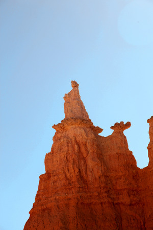 View of Queen Victoria Hoodoo in Bryce Canyon National Park