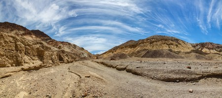 Panoramic view of Desolation Canyon in Death Valley National Park