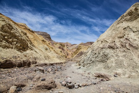 Golden Canyon Trail in Death Valley National Park
