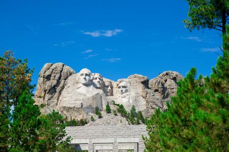 Mount Rushmore in America