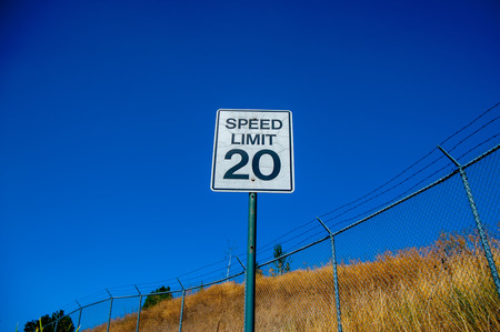 Sign Speed Limit 20 at Yellowstone National Park is located in the U.S. states of Wyoming, Montana, and Idaho.