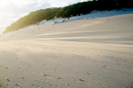 Carlo Sandblow in Rainbow Beach, Queensland. Australia is a continent located in the south part of the earth.