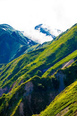 Mountain view of Tateyama in Toyama, Japan. Toyama is one of the important cities in Japan for cultures and business markets. Stock fotó
