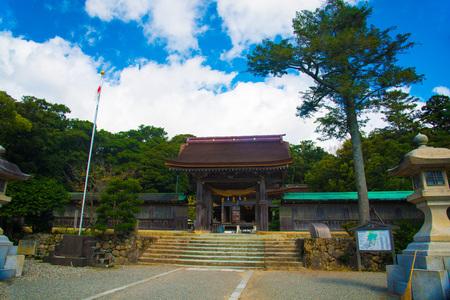 Kita shrine in Ishikawa, Japan. The religion for Japanese people is mostly Shinto. Sajtókép