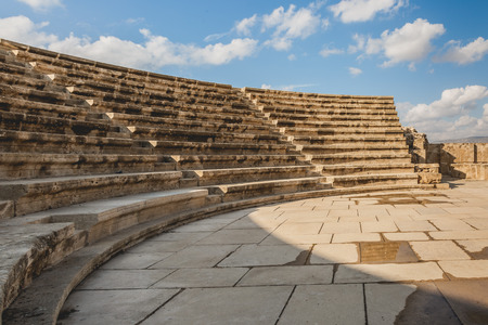 Ancient greek amphitheatre