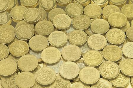 pound coins: British One Pound Coins