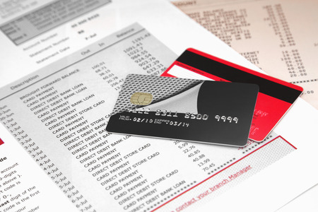 credit crunch: Credit Cards on Bank Statements