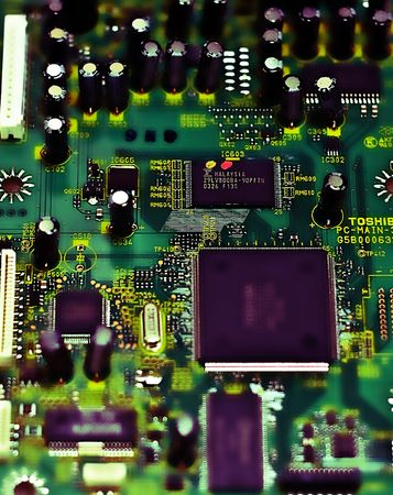 Stylized Circuit Board Stock fotó