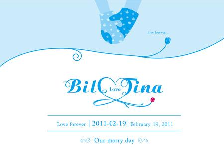 結婚、結婚式のテーマのデザイン