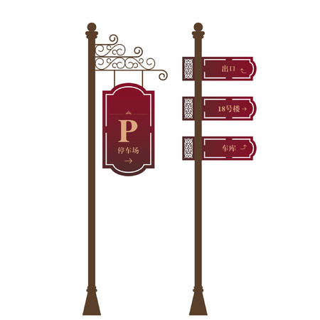 guides: Guidance Signs  Illustration