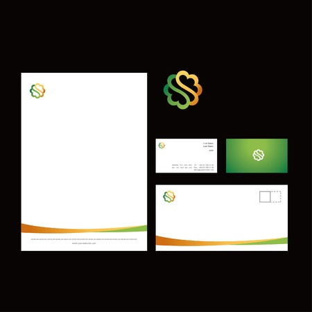 company business printing template