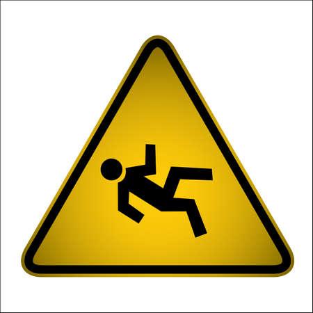 adjusting activity: hazard signs for your design, website