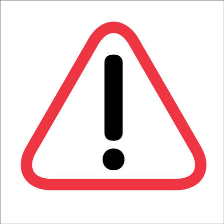 be careful: Caution icon